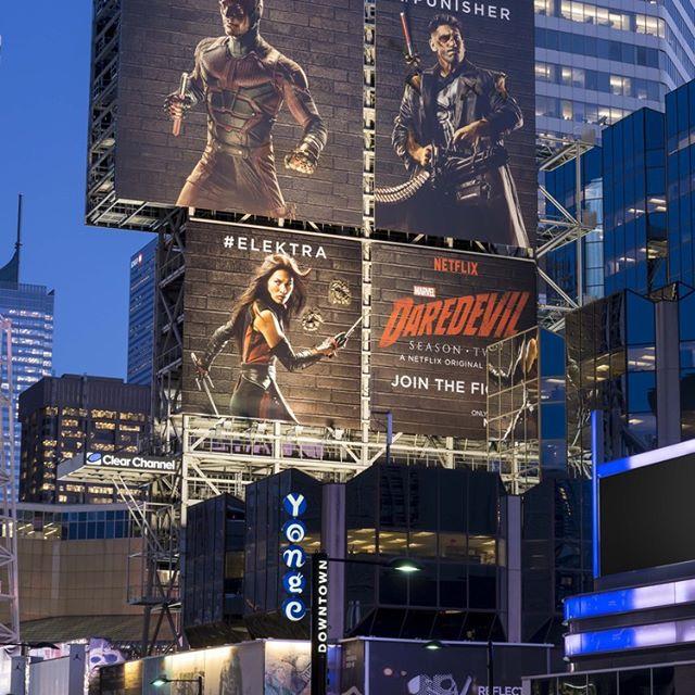 Netflix Fighting Billboards