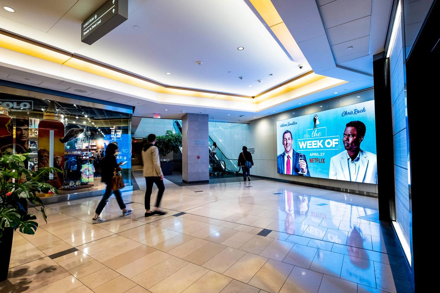 Netflix – The Week Of - Malls - CF Pacific Mall - Digital Spectacular (Markham, Ontario)