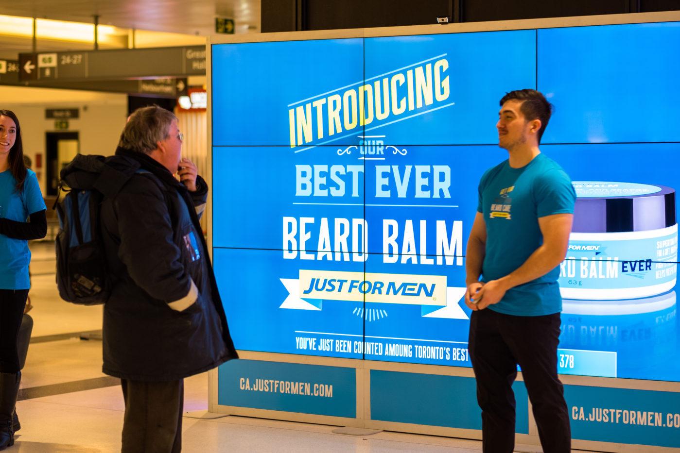 Just For Men - Beard Balm - Union Station - GO Concourse (Toronto, Ontario)