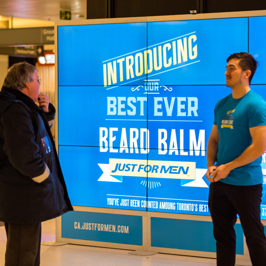 Just For Men - Beard Balm - Union Station - GO Concourse (Toronto, Ontario)
