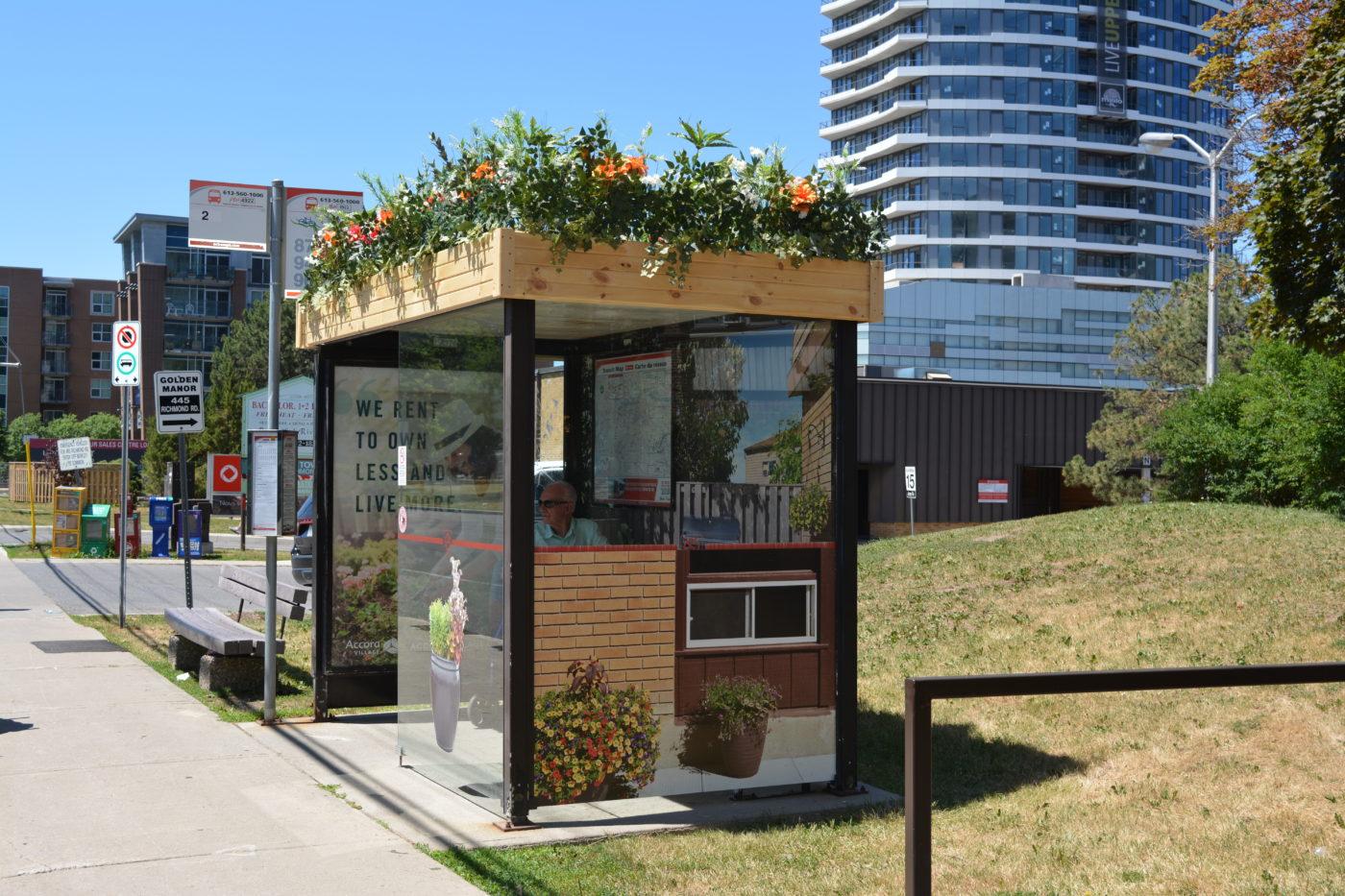 Accora Village - Street Furniture - Decorative Transit Shelter (Ottawa, Ontario)